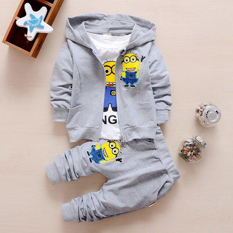 Hec81c5c904754a70b77b5130be5f04d6c - Hot style spring baby girls boys suits mignon / newborn clothing set kids vest + shirt + pants 3 pcs. sets children suits