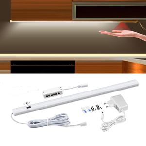 Image 1 - 12V Motion Sensor Hand Sweep night lamp Wireless Hand wave scanning Detector Automatic On/Off Kitchen Cabinet wardrobe lighting