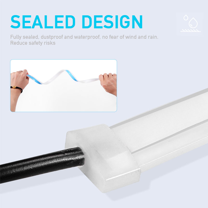 12V Car Led Light Strip DRL Daytime Running Lamp Strips Flexible LED Auto Headlight Surface Decorative Lamp Turn Signal Lights 3