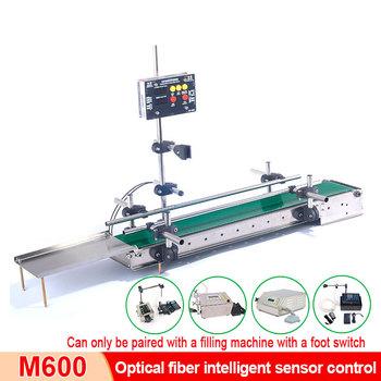 Maszyna do napełniania cieczą światłowód inteligentny przenośnik indukcyjny przenośnik taśmowy inteligentna maszyna do napełniania żywności tanie i dobre opinie comopez CN (pochodzenie)