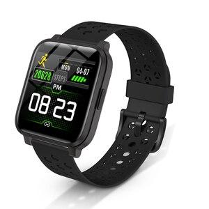 Image 1 - X3C Smart Watches IP68 impermeabile lunga durata della batteria rifiuto chiamata Fitness Tracker donna uomo sport Smartwatch per IOS Android