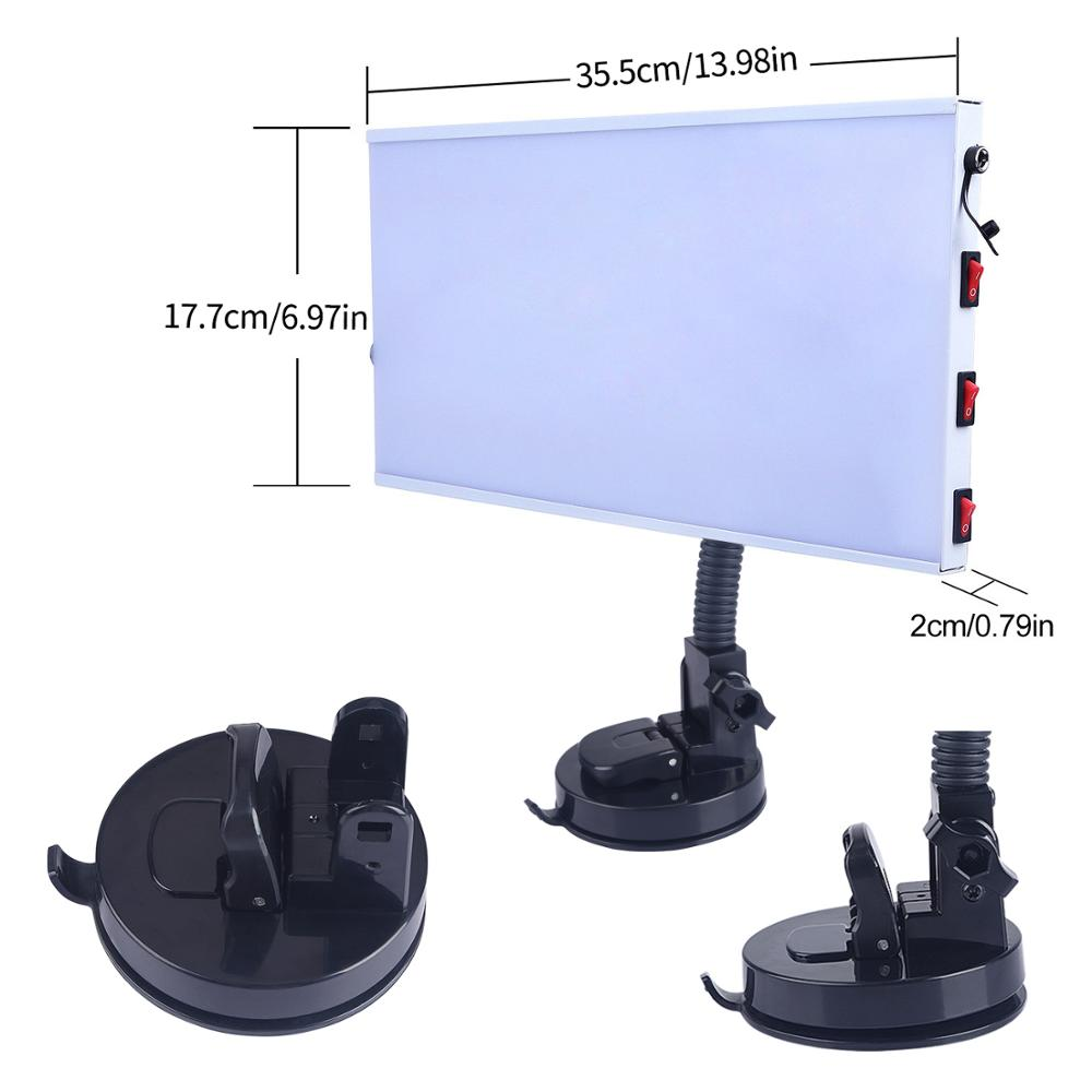 Repair Tools Light Car LED Tool Dent Repair Board Removal Sets Removing Paintless Lamp Aluminum Kit Dents PDR Reflector Auto
