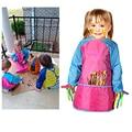 Детская водонепроницаемая ткань с длинным рукавом для мальчиков и девочек
