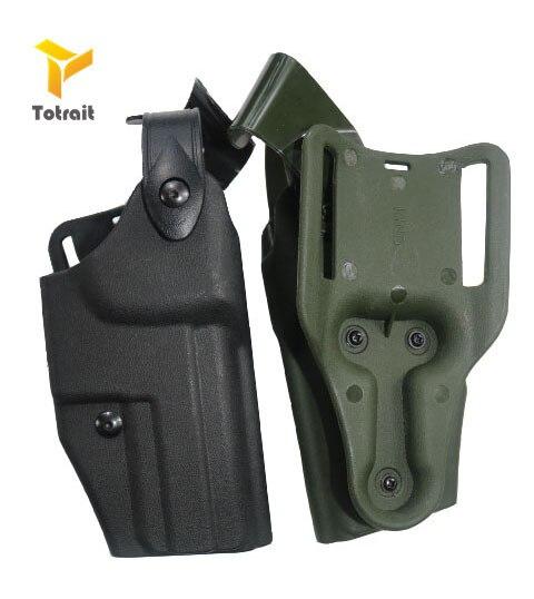Military Tactical Airsoft HK USP Compact Gun Holster Gun Carry Case Right Hand Quick Drop Gun Belt Holster Hunting