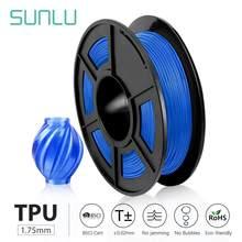 SUNLU-filamento de impresora 3D, 0,5 KG, 1,75mm, bajo olor, precisión Dimensional +/-0,02mm, filamento de impresión 3D