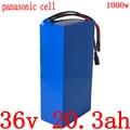 Аккумуляторная батарея 36 в 20 А · ч  литий-ионный аккумулятор 36 в 20 А · ч для электрического велосипеда с аккумулятором panasonic для электродвига...