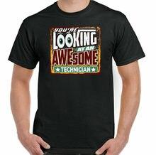Camiseta de técnico de Laboratorio, camiseta de asistencia, You're Looking A Un ottima