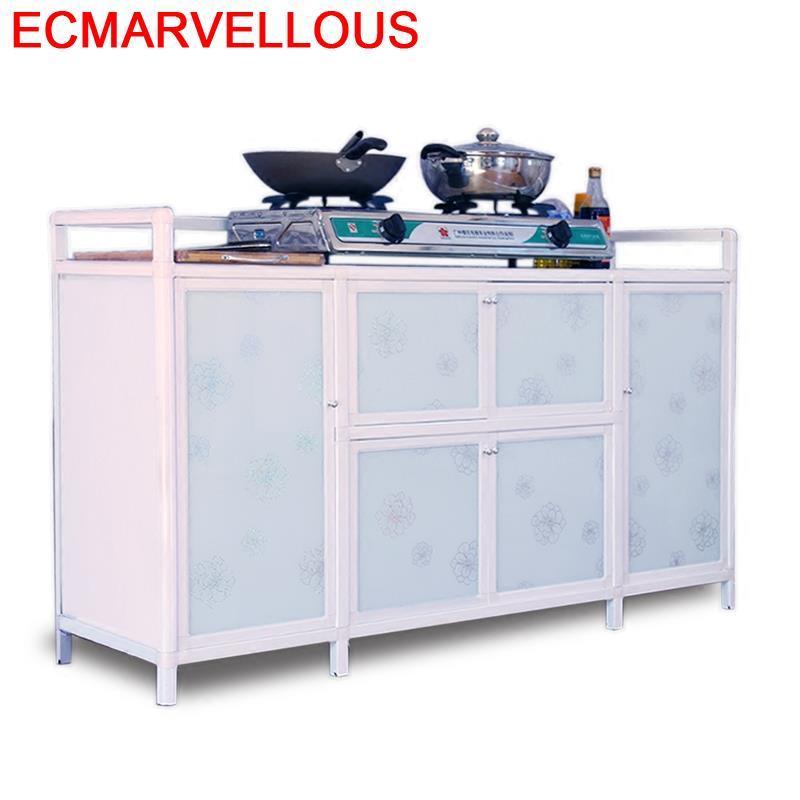 Room Aparador Dolap Kaplama Comedores Capbords Kitchen Furniture Mueble Cocina Cabinet Aluminum Alloy Meuble Buffet Sideboard