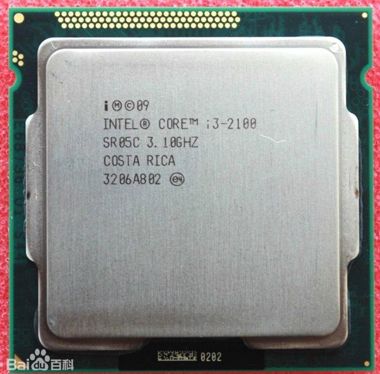 ntel Core i3 2100 Processor 3.1GHz 3MB Cache Dual Core Socket 1155 Desktop CPU