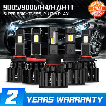 NOVSIGHT H4 LED H7 H11 H8 HB4 HB3 Car Headlight Bulbs 100W 20000LM Car Styling 6000K led automotivo - DISCOUNT ITEM  40 OFF Automobiles & Motorcycles