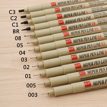 Point-Line-Pen Crayon Drawing School Stationery Hook Painting Art Office 12pc-Needle