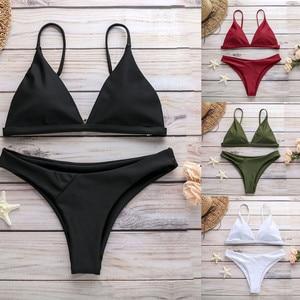 Sexy White Bikinis Swimwear Women 2020 Tankini Swimsuits Set Swimsuit Купальник Женский Maillot De Bain Push Up Women Cloth