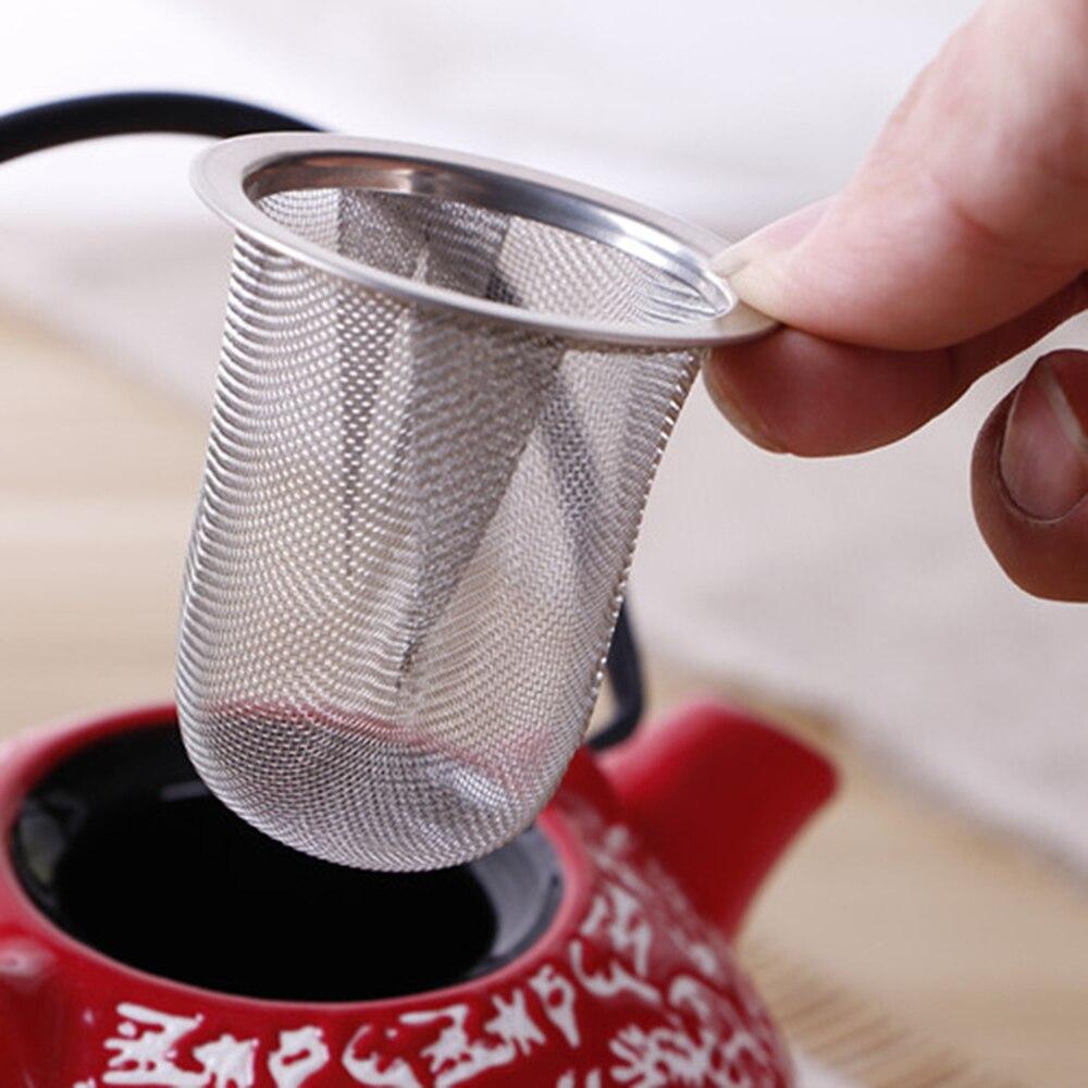 50 pces diâmetro 5.1-9 cm malha chá