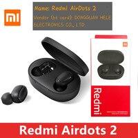 Originele Xiaomi Redmi Airdots 2 Tws Oortelefoon Draadloze Bt 5.0 Oortelefoon Stereo Ruisonderdrukking Microfoon Voice Control