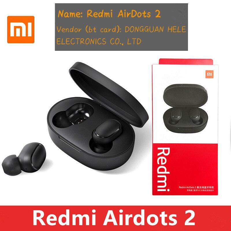 Original Xiaomi Redmi Airdots 2 TWS écouteur sans fil bluetooth 5.0 écouteur stéréo réduction du bruit micro commande vocale |