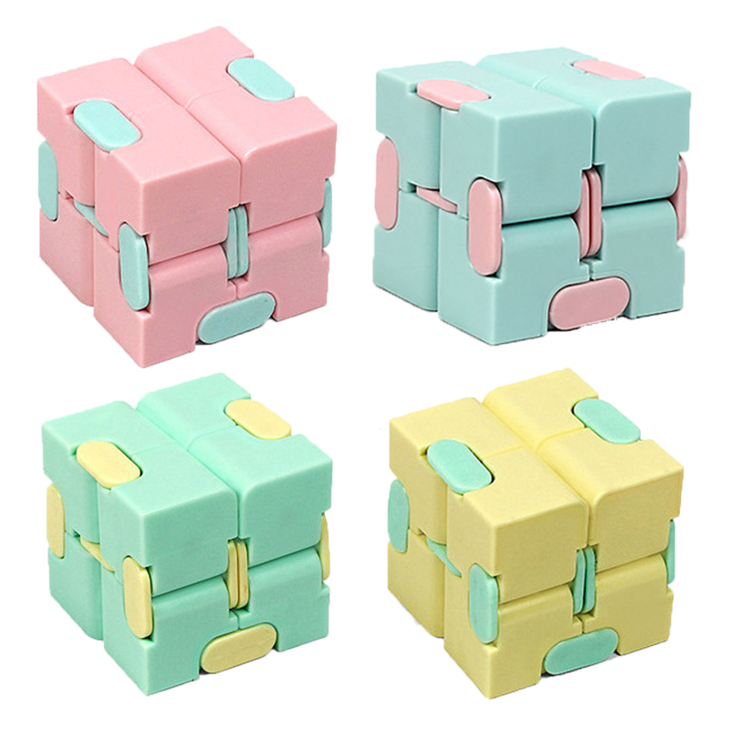 Puzzle Toy Maze-Toy Magic Cube Stress Fingertips Infinity Game Square Four-Corner Funny img1