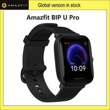 Huami amazfit bip u pro smartwatch gps glonass 5atm relógio inteligente monitor de freqüência cardíaca rastreador sono suporte controle voz