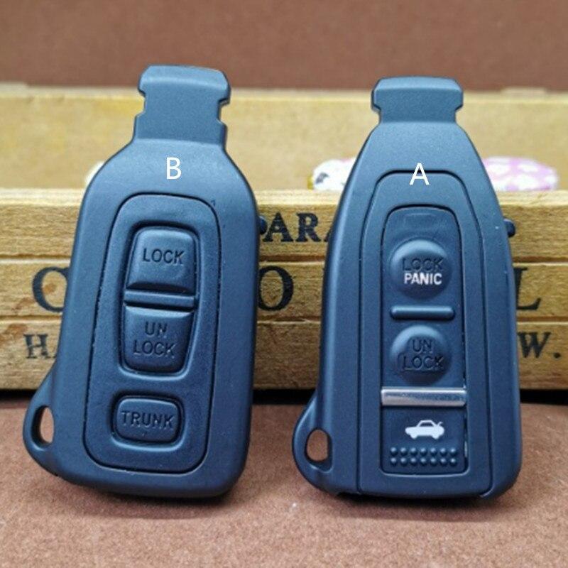 DAKATU 3 ปุ่ม Smart Prox Remote Key Shell สำหรับ Lexus LS430 2002 2003 2004 2005 2006 พร้อม Uncut Blade