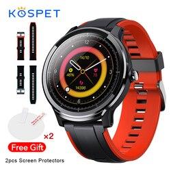 KOSPET sondy inteligentny zegarek mężczyźni IP68 wodoodporna w pełni dotykowy Monitor pracy serca bransoletka sportowa Smartwatch kobiety dla Android IOS