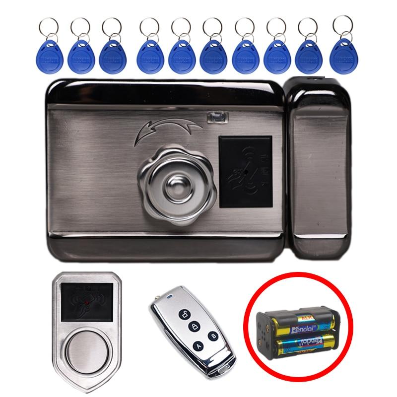 HIgh Security AID Chip Lock Simple Smart Card Locks Wireless Electronic Swipe Card Door Locks Keyless Entry