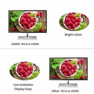 Image 3 - AV Adapter Composite Mini 720P AV HDMI 1080P Für HDMI CVBS 3RCA HDTV Konverter RCA ZU HDMI Konverter audio Video Kabel