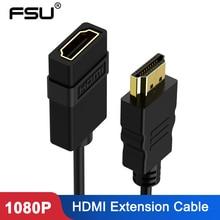 3FT HDMIชายหญิง 0.5M 1Mพอร์ต 1080P HDMIขยายสายสำหรับแล็ปท็อปHD TV LCDโปรเจคเตอร์