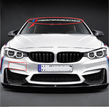 power motorsport car windscreen windshield sticker for BMW E90 E60 F30 F10 320 328 330 520 E36 E70 image