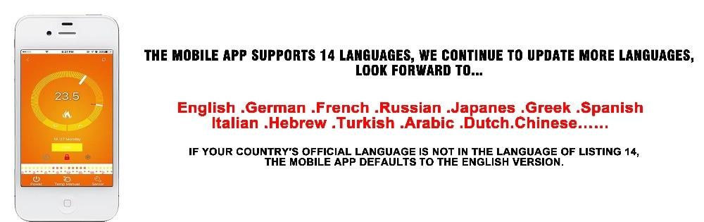 支持14种语言
