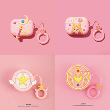 3D Sailor Moon Earphone Case for Airpods Pro Case Cute Silicone Cartoon Headphone/Earpods