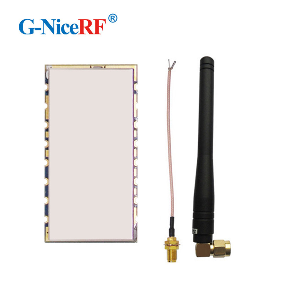 Free Shipping- RF4463F30 1W 30dBm High Power SI4463 433MHz SPI Interface FSK Wireless Transceiver Module