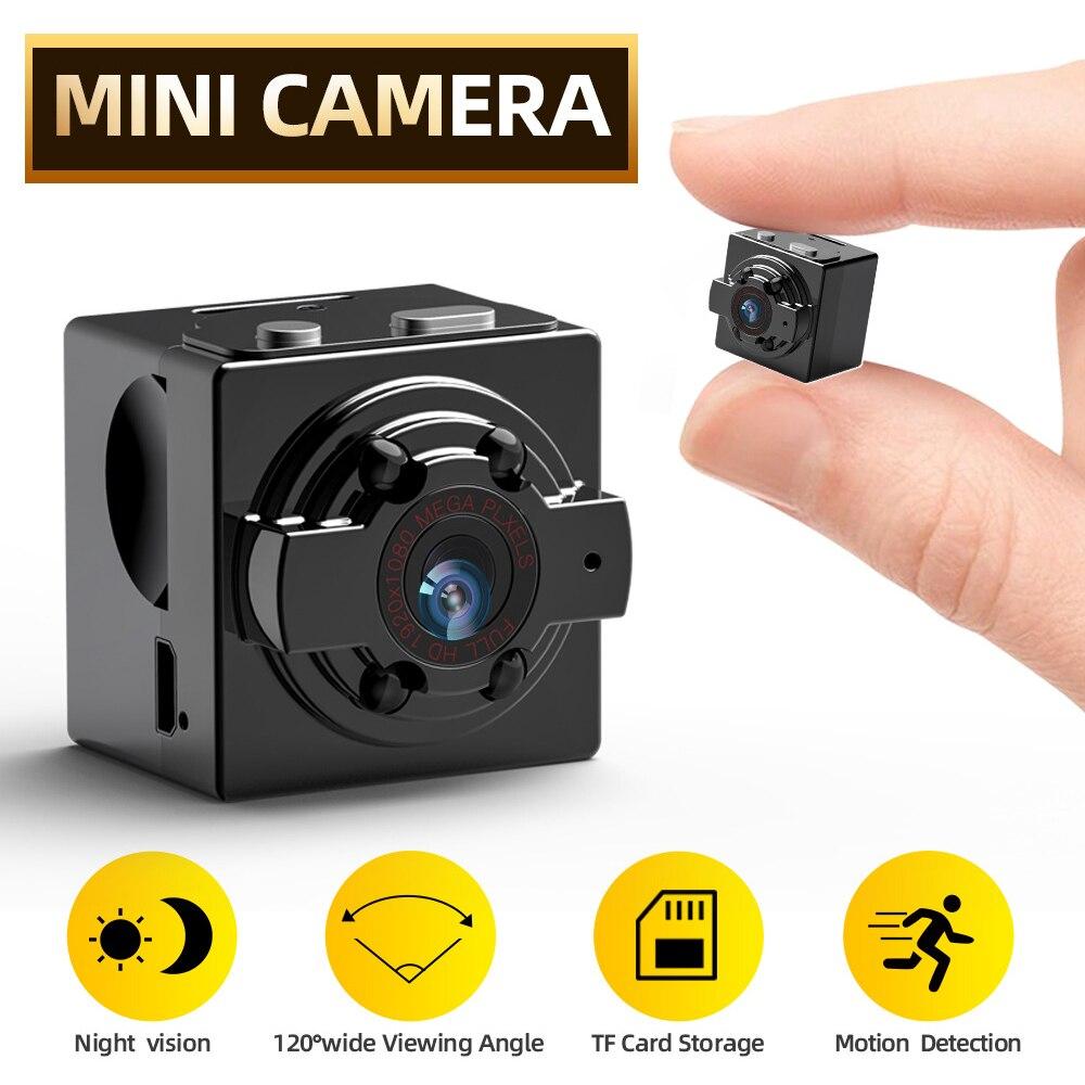 Мини-камера видеокамера HD 1080P/720P с датчиком ночного видения и датчиком движения