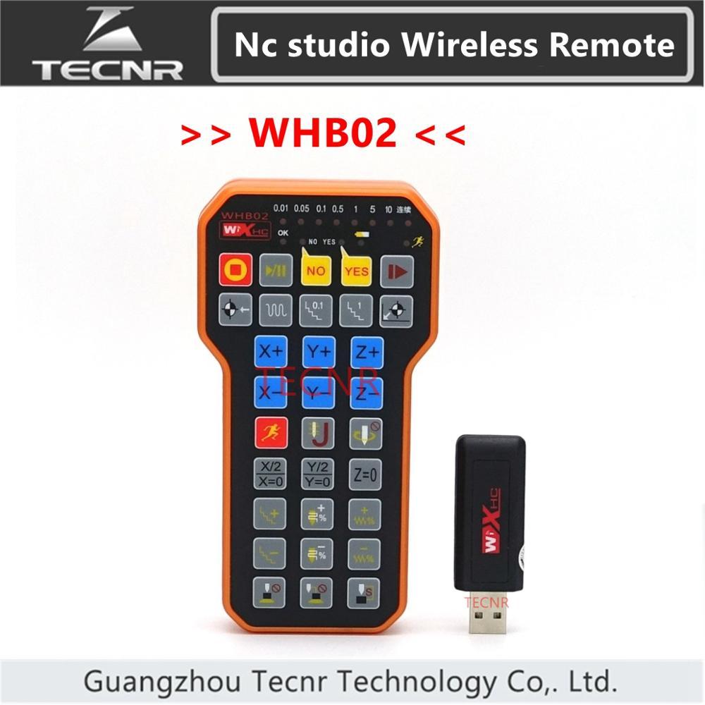 دسته کنترل از راه دور بی سیم USB استودیوی NC weihong DSP دسته کنترل برای دستگاه برش CNC حکاکی HB02 WHB02