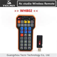 Nc studio USB Wireless Remote Handle weihong DSP Control handle for cnc engraving cutting machine HB02 WHB02(China)