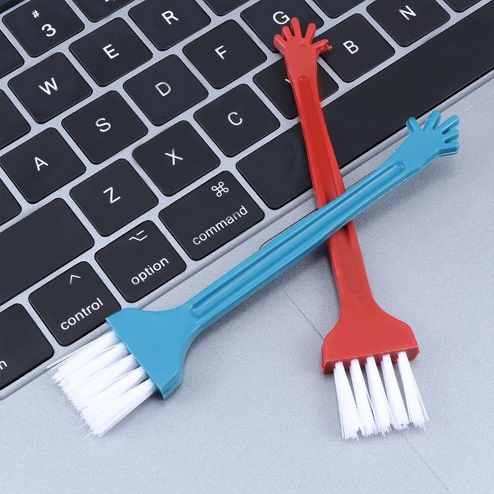 10Pcs Tablet Plastic Keyboard Portable Cleaning Brush Dust Cleaner Repair Tools Computer Cleaners Office Products image