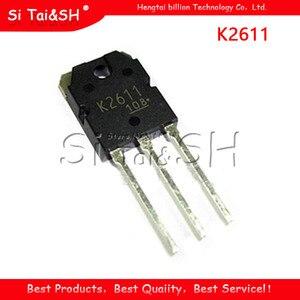 10 pces 2sk2611 to-247 k2611 to247 mosfet n-ch 900v 9a rdson 1.4 ohm transistor novo original