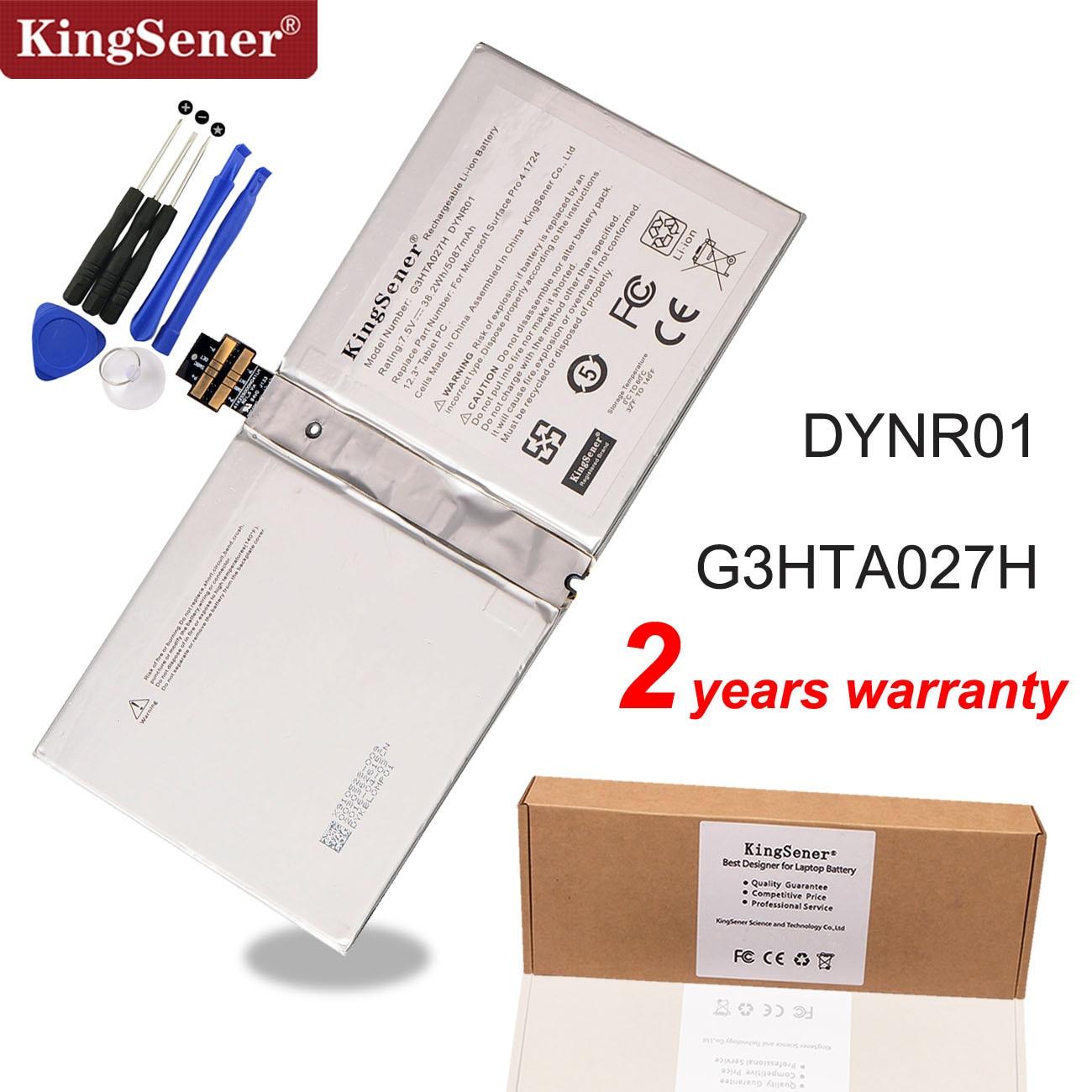 KingSener G3HTA027H DYNR01 Laptop Battery For Microsoft Surface Pro 4 1724 12.3