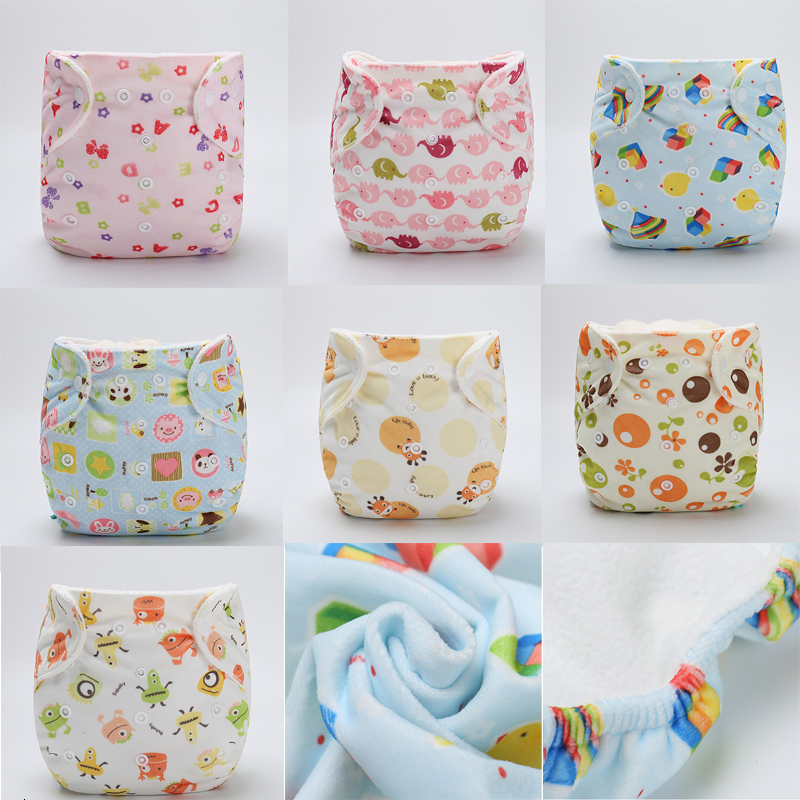 Baby Thickening Cloth Diaper Pants Baby Can Wash Can Adjust Cotton Diaper Pants Urine Separating Trousers Training Diapers Pants
