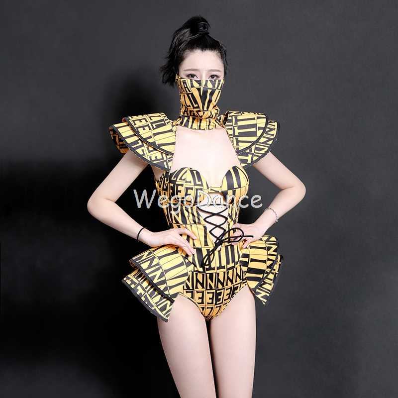 New Fashion Dance Costume Bodysuit Women DJDS Jumpsuit Singers Performing Wear Pole Dance Gogo Dancer Outfits