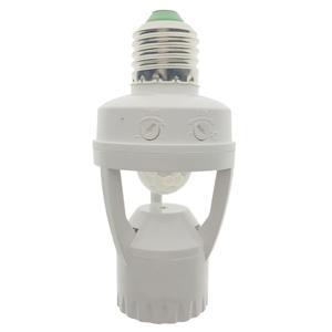 Lamp-Holder Motion-Sensor Socket-Switch Induction Infrared Pir 110-220V E27 Human Plug