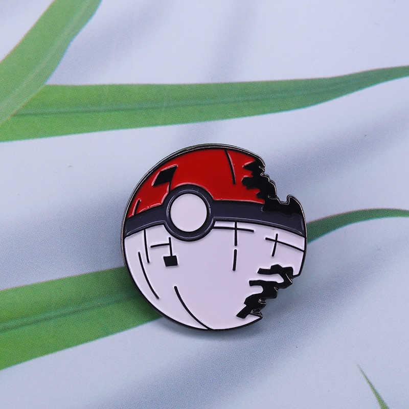Pokeball Pin Gaan Emaille Pin Nintendo Video Game Broche