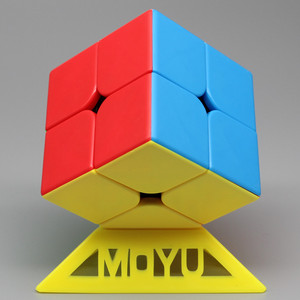 Moyu ML 2X2X2 Magic Speed Cube Pocket Stickerless 50 mm Puzzle Professional Cube Educational Funny Toys For Children Gift