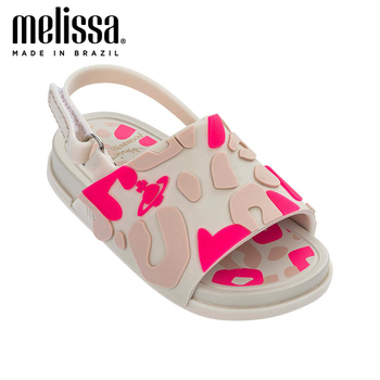 Mini Melissa Beach Slide Sandal Little Girl Boy Jelly Shoes 2020 Baby Shoes Melissa Sandals Girls Kids Jelly Shoes  Zandalias