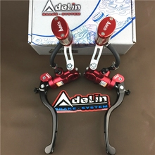 Universal  Adelin 16*18 PX1 motorcycle brake clutch pump master cylinder lever handle For Yamaha Kawasaki Suzuki