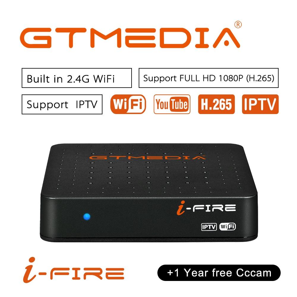 New Arrival GTmedia IFIRE TV Box 4K HDR STB BOX Ultra HD WIFI Xtream IPTV Stalker IPTV Youtube Set Top Box Media Player Internet
