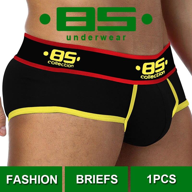 CMENIN Slips 85 Sexy Underwear Men Jockstrap Briefs Men Bikini Gay Male Underpants BS175 New Arrival 2020 Soft