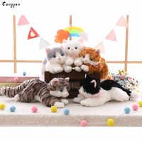 40cm(16in) Beautiful cat doll simulation animal cat doll cute pet plush jewelry Christmas toy gift kids like