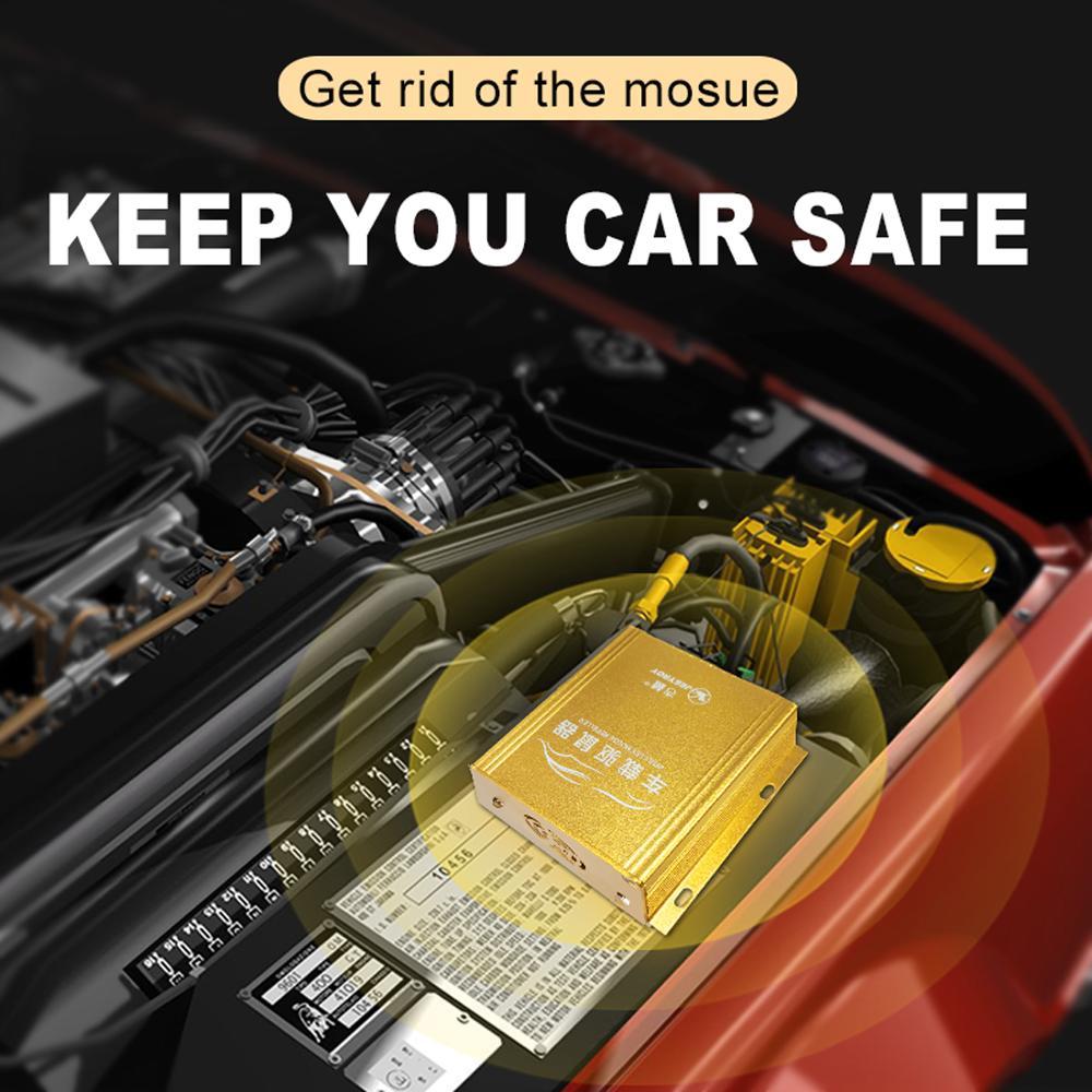 12v Prevent Marten Shock Car Rodent Rat Mouse Repeller Mice Mouse Repellent Cars Engine Compartment Pest Control