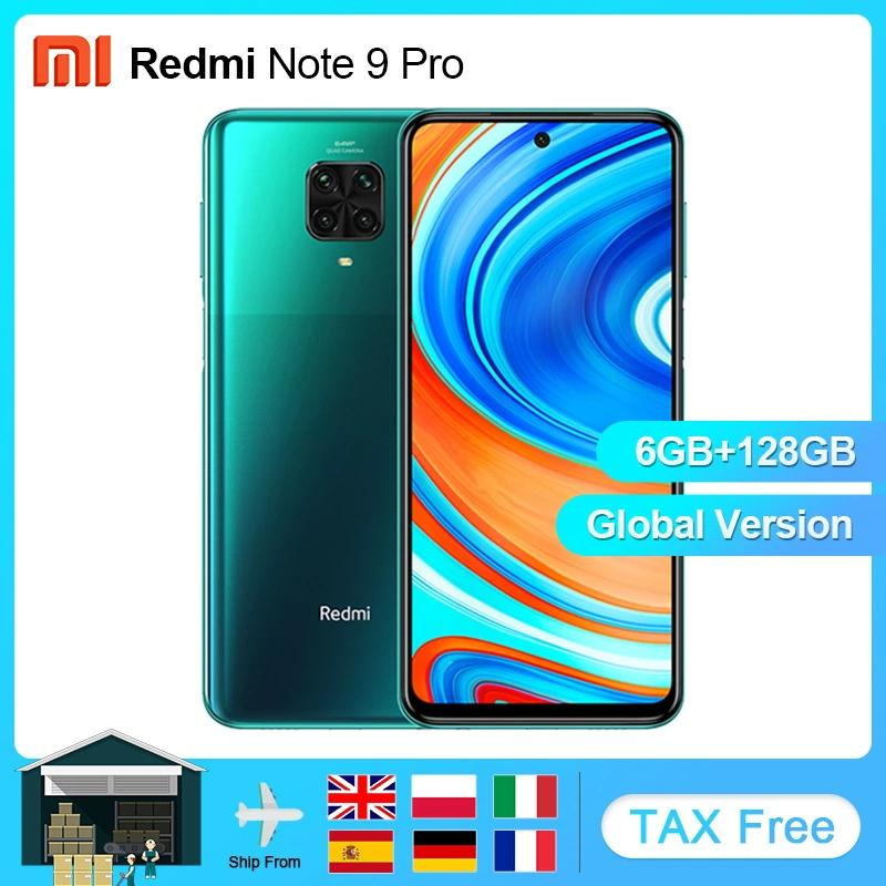Xiaomi Redmi Note-9 Pro 64gb 6GB GSM/WCDMA NFC Adaptive Fast Charge Fingerprint Recognition