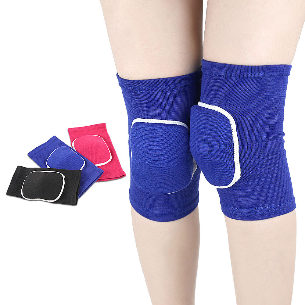 1Pair Kids Elastic Kneepads Breathable Anti-slip Sponge Knee Brace Support Knee Sleeve Protector Support Pad Wrap Protector New