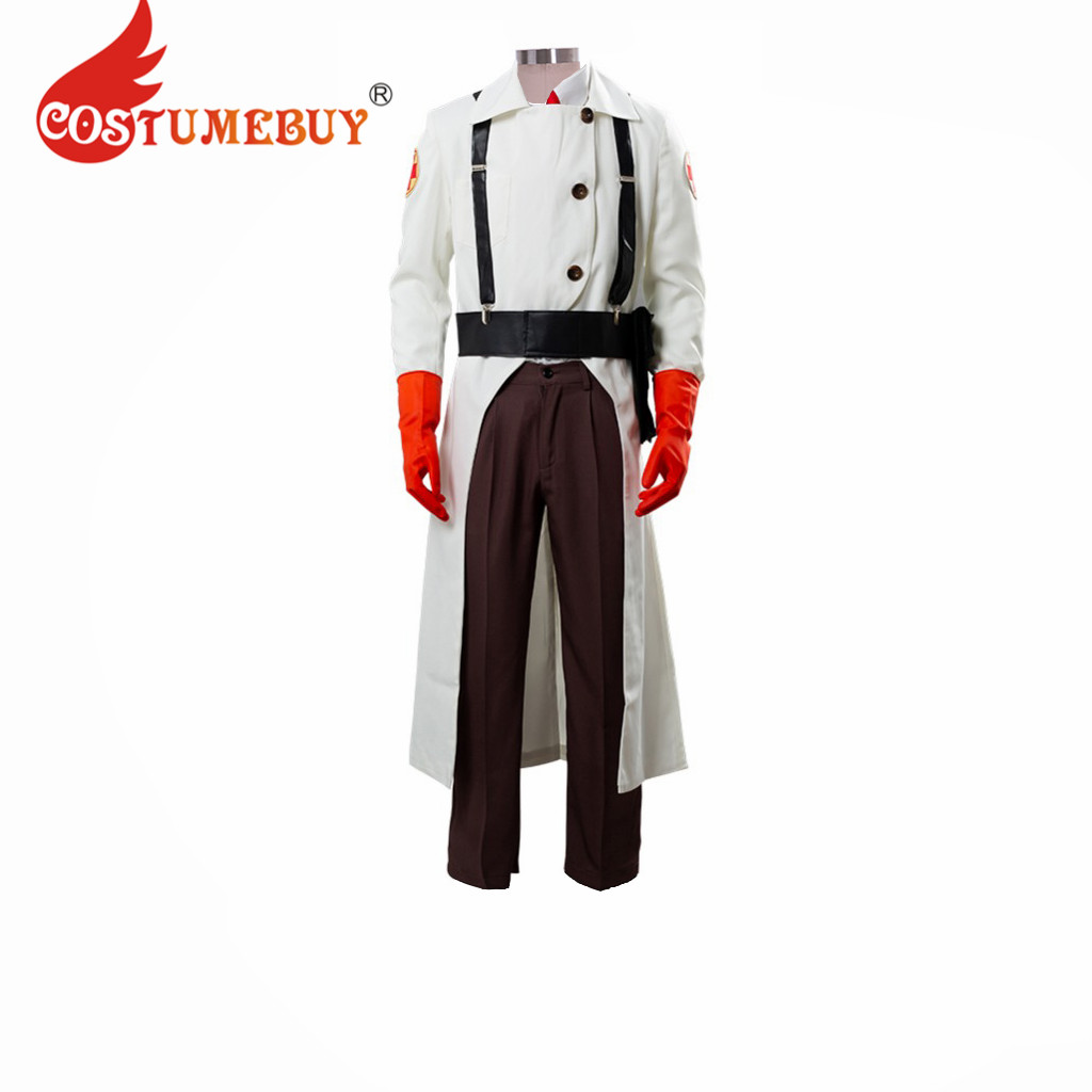 Team Fortress 2 Medic Cosplay Suit Uniform Costume For Adult cosplay costume
